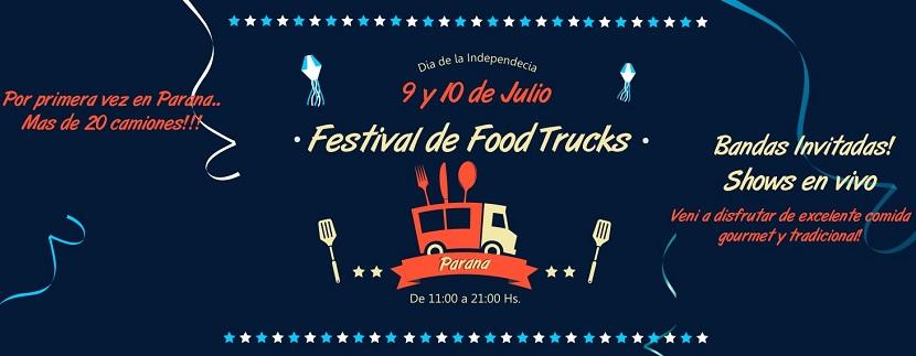 Festival de Food Trucks en Paraná