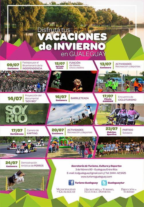 vacaciones invierno Gualeguay