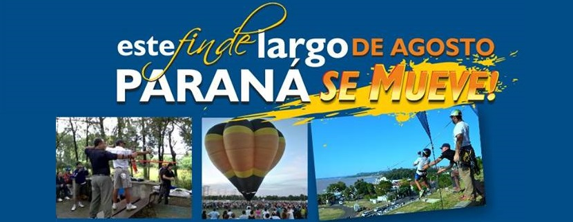 Actividades para el fin de semana largo de Agosto en Paraná