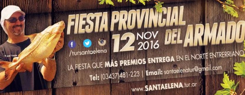 Fiesta Provincial del Armado en Santa Elena