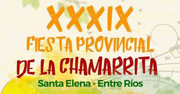 XXXIX Fiesta Provincial de la Chamarrita en Santa Elena