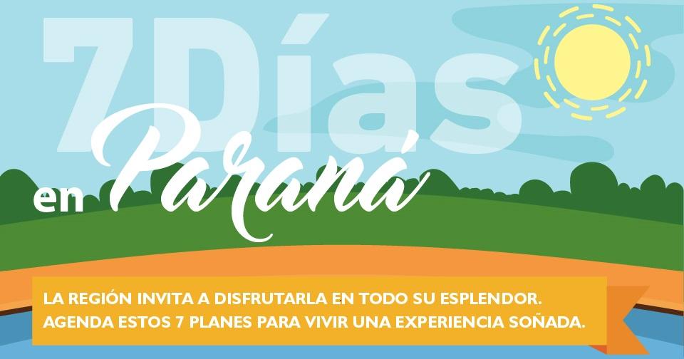 Viví Paraná en 7 días