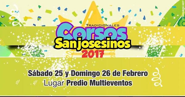 """Los """"Tradicionales Corsos Sanjosesinos"""" se preparan para el Fin de Semana de Carnaval"""