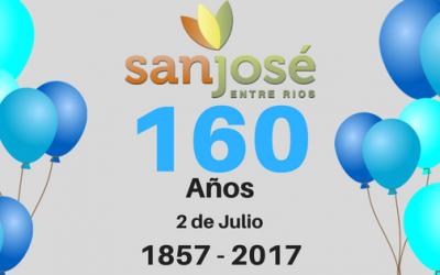 Aniversario 160 de la Ciudad de San José