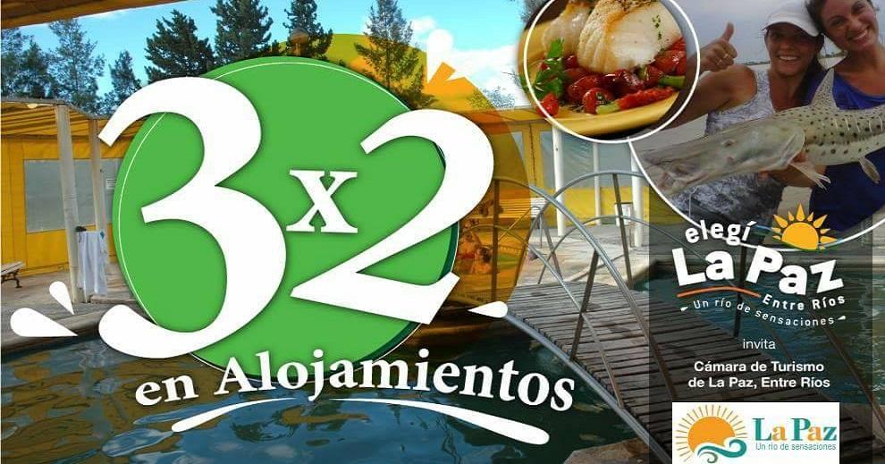 En junio promo 3×2 en alojamientos en La Paz