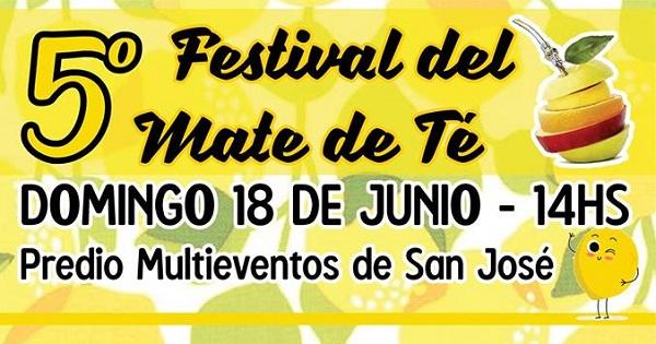 5º Festival del Mate de Té en San José