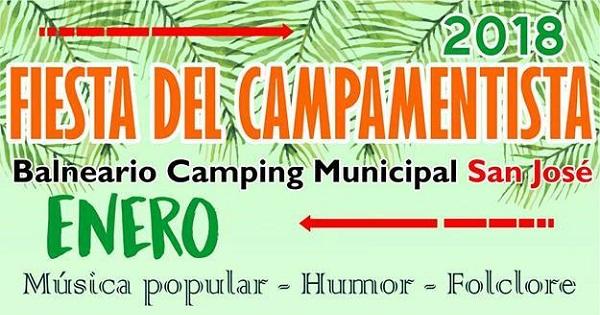 Fiesta Provincial del Campamentista 2018 en San José
