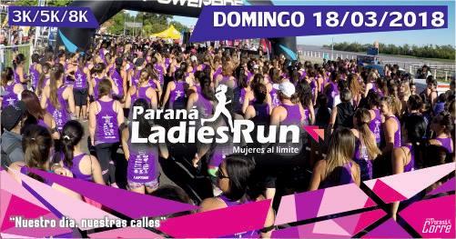 """Paraná Ladies Run 2018 """"Paraná Corre"""""""