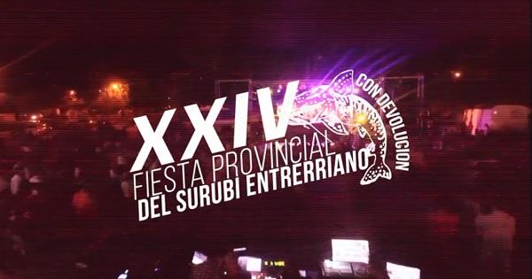 Fiesta Provincial del Surubí Entrerriano 2018 en La Paz